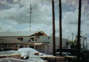 Hurricane Damage - Someone's Home Destroyed