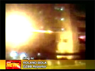 Blast at Batasan Pambansa Quezon City, Philippines - Another explosion occured