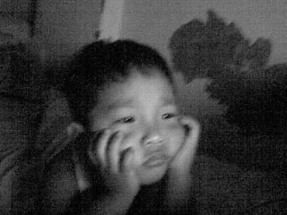 think..realize... - my baby brother..