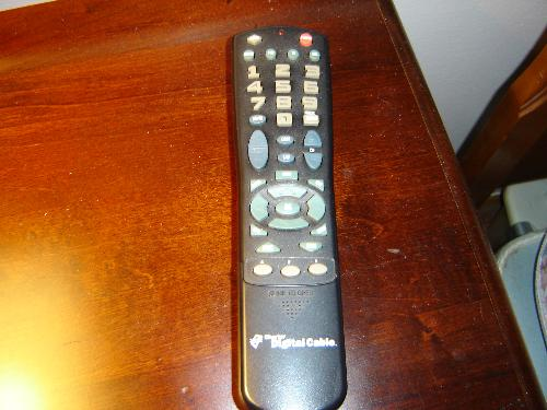 Remote Control - Husband's favorite toy.