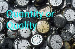 Quantity or Quality? - Quantity or quality? which counts more?