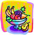 fruit - fruit bowl