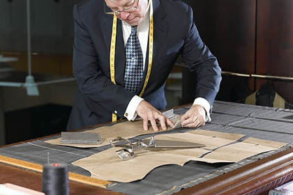 Tailor - Are they going to the tailors to make shirts still?