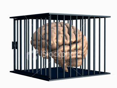Restriction!!! - Brain restricted by the schools cage