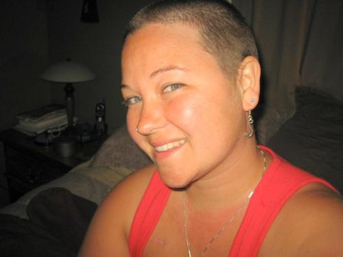 Shaved heads look so nice - I am shaving my head if you don't like that suck it loser