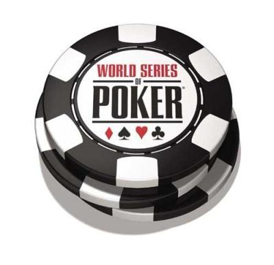 Playing Poker - This is an image of the poker chips from World Series Of Poker.
