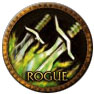 Rogue- WoW - A World Of Warcraft Rogue Logo.