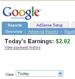 my adsense earnings January 9th - Wanna see that I can really make money with adsense ?