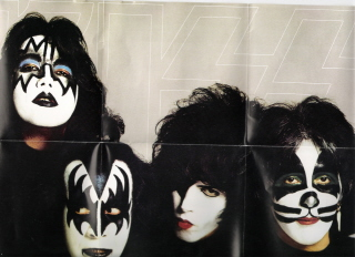 Gene Simmons and KISS - I know I seem like a big kid, but these guys have been one of my faves since I was a teenager. My daughter thinks I'm nuts, LOL!