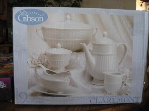 Teapot Set etc - The second part of a trhee month promo of comps from the casino I go to