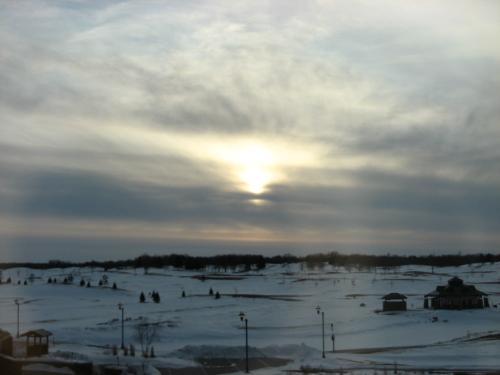 Morning Frozen Sunshine - Brrrr!