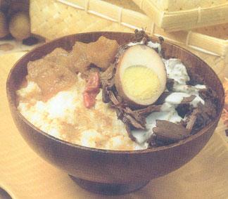 gudeg jogja - indonesian food.