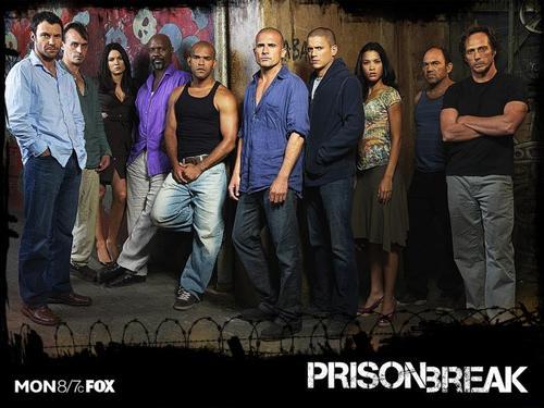 Prison Break season 3 - All star cast of Prison Break season 3..