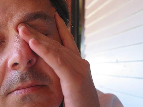 Fatigue and stress - A man in stress just like me :-(
