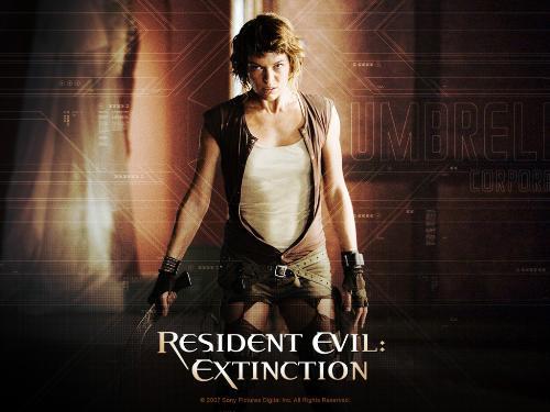Milla Jovovich Rocks !!! - Will Resident Evil 4 be made ?
