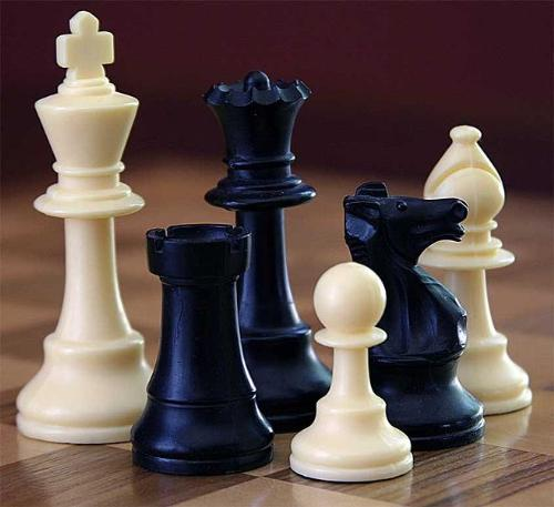 Chess Pieces - Pieces from a chess set.