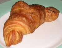 Croissant - Golden brown croissant baked to beautiful goodness!