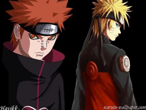 Pein and Naruto - Pein