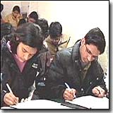 Students - Students taking exams