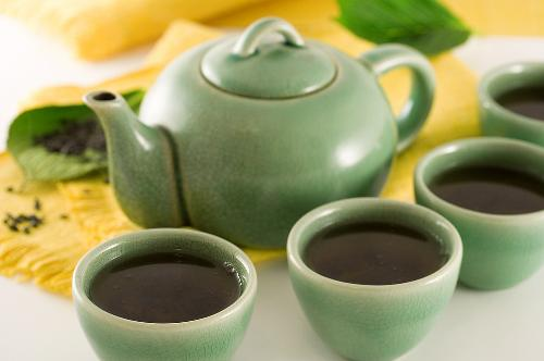 Take tea and be fresh - Drinking a cup of tea is must for life.