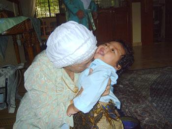 Sweet smell of Granny - I love my Grandma.