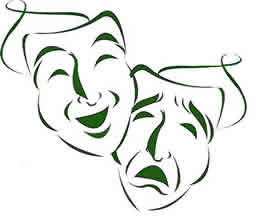 Theatre Mask - Picture of classic theatre masks