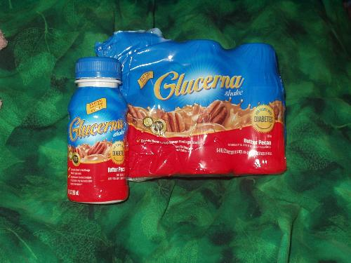 Glucerna - I buy Glucerna by the 6 pack at Wal-Mart, it's the cheapest place to get it.