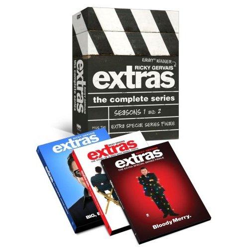 dvd extras - ricky gervais dvd extras