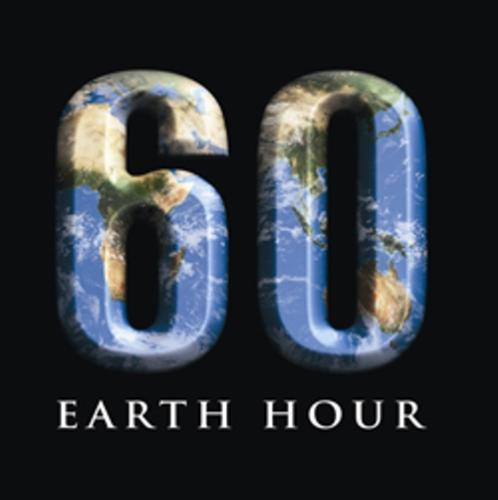 Earh hour - Let us cool the earth tonight.