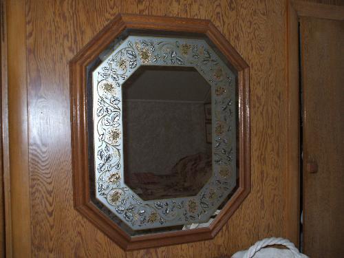Decorative Mirror - Mirro over my antique dresser.