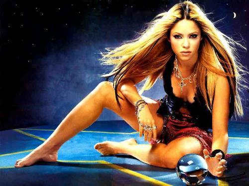 Shakira,the singer - Shakira,a wonderful singer