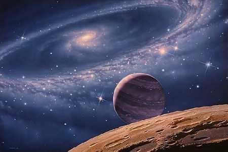 Galaxy - amazing vastness of the galaxy
