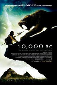 10000 bc - movie poster