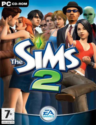 The Sims 2 - The Sims 2 PC game cover.