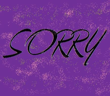 mistake\sorry - mistake