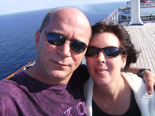 vacation cruise! - my husband and I went on our first cruise this last jan. I had a couple fibro day but for the most part it was great to get away and have some fun!