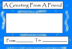 Card - Greeting card