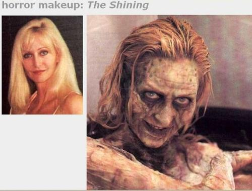 Horror Movies - Horror woman make-up..
