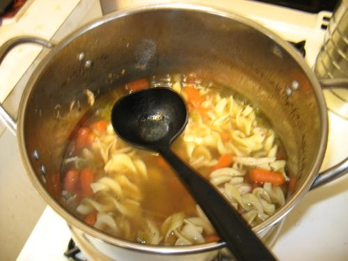 HomeMade - The wife's Home Made Chicken Noodle Soup