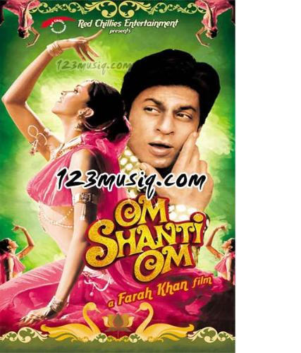 film - this is a pic of om shanthi om.. in which shahrukh and deepika are the hero and heroine.this fil was released last year..its a bollywood hit fil..and was a thorough entertainer.
