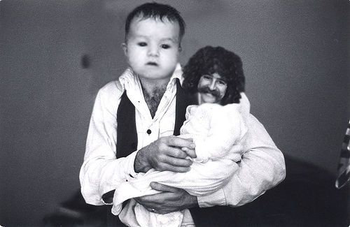 Man Babies! - A picture from a very strange site I found!