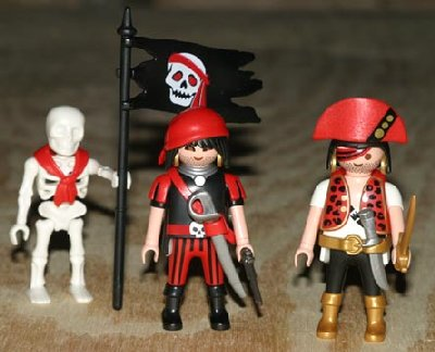 Playmobil Pirate Hideout - One of the many very cool sets in the Playmobil Pirate theme!