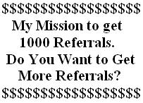 Get referrals for free - I want to get more referrals