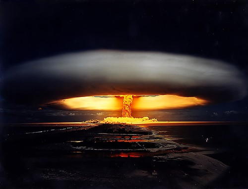 Mushroom cloud - Wow! Atomic explosions look [b]so[/b] cool! Too bad they're so deadly.