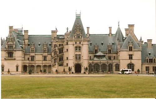 Biltmore House - This is a photo of the Biltmore House in Asheville, N.C.