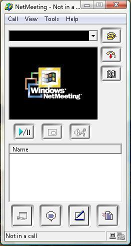 Net Meeting - Net Meeting in windows vista.