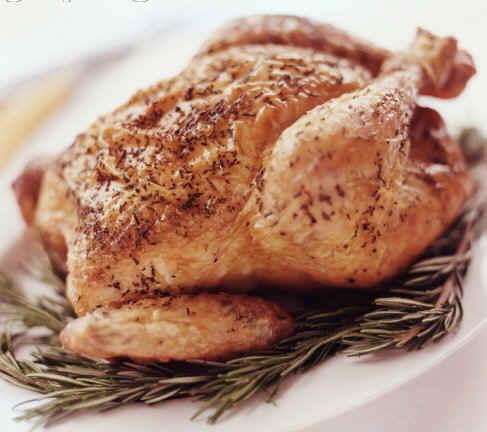 chicken - A tasty, well spiced chicken.