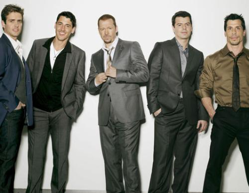 New kids on the block - recent picture of the new kids on the block