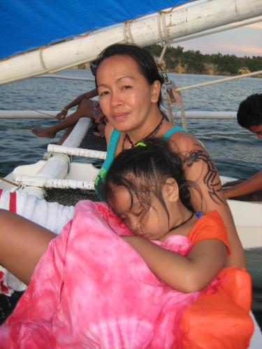 Myself and Angel - This was during our summer vacation to Boracay, April 2008.