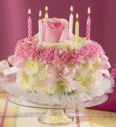 Wishing A Happy Birthday - image of a birthday cake
